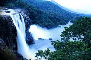 top 5 waterfalls of india - athirapilly falls