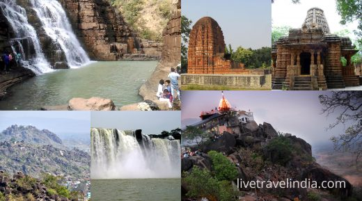Top 5 captivating and must visit tourist places in Chhattisgarh !