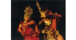 Enjoy the Chhau Dance Performance