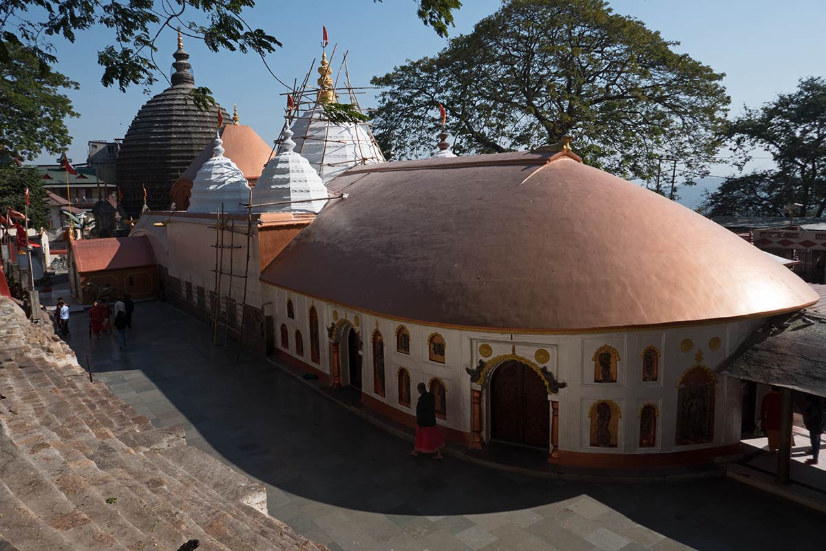 Kamakhya Temple of Guwahati in Assam, India