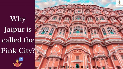 Why Jaipur is called Pink City? Let's find out!