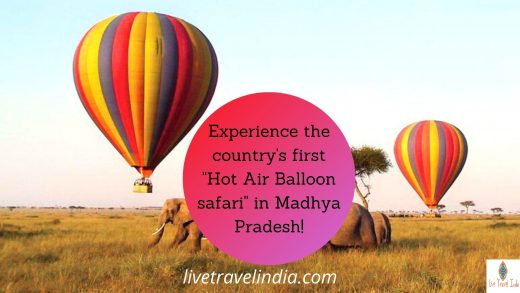 "Experience the country's first ""Hot Air Balloon safari"" in Madhya Pradesh!"